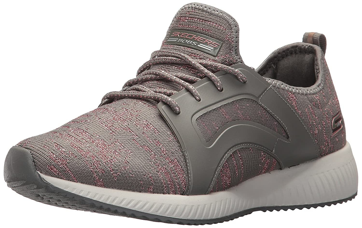 Amazon.com | Skechers BOBS Womens Bobs Squad-Glossy Finish Fashion Sneaker | Fashion Sneakers