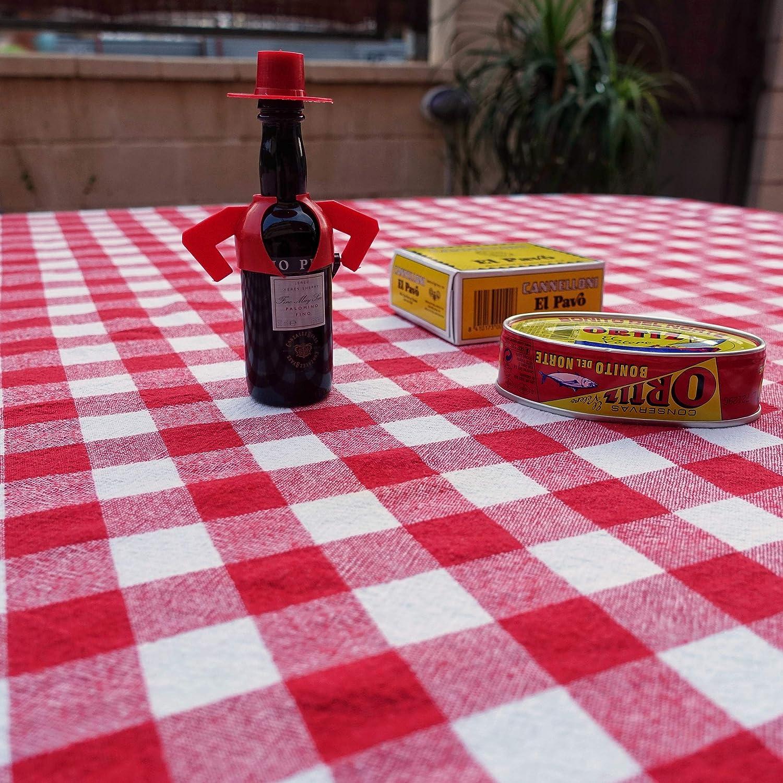 Red, 155X220 cm ElfRoutes Tovaglia