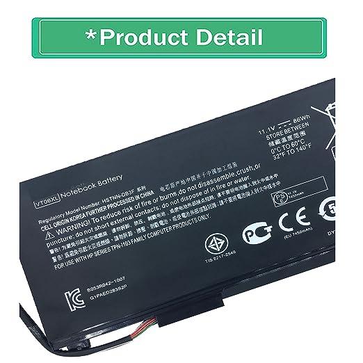 Amazon.com: Emaks VT06XL Battery VT06 VT06086XL for HP Envy TPN-I103 17-3000 17t-3000 Series,P/N:HSTNN-DB3F HSTNN-IB3F 657240-151 657240-171 657240-251 ...
