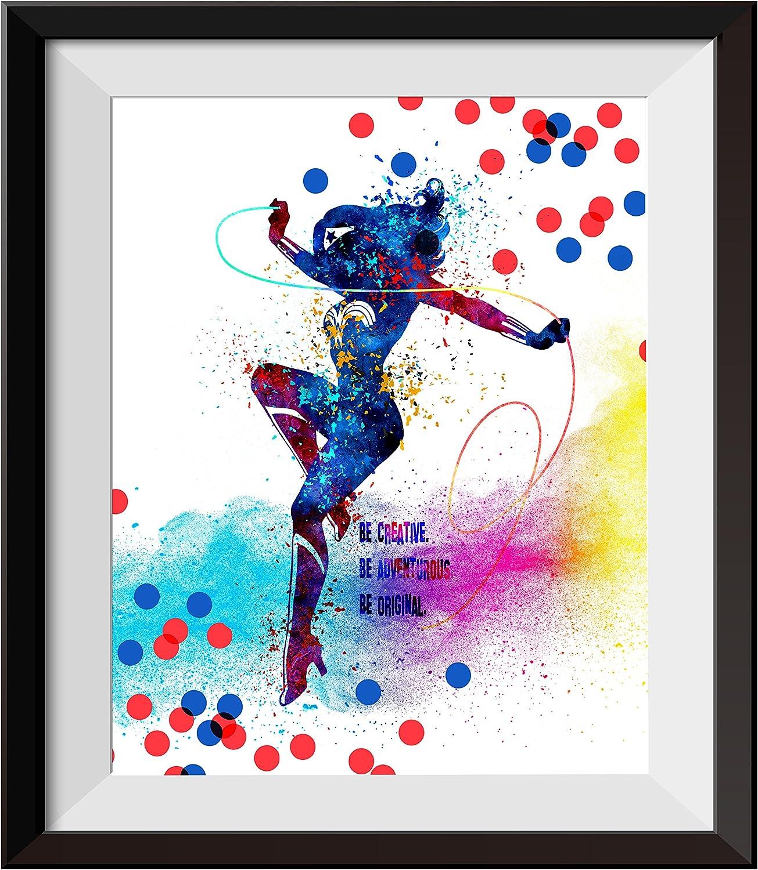 Uhomate Wonder Woman Poster Wonder Woman DecorHome Canvas Prints Wall Art Baby Gift Inspirational Quotes Wall Decor Living Room Bedroom Bathroom Artwork C105 (8X10 inch)