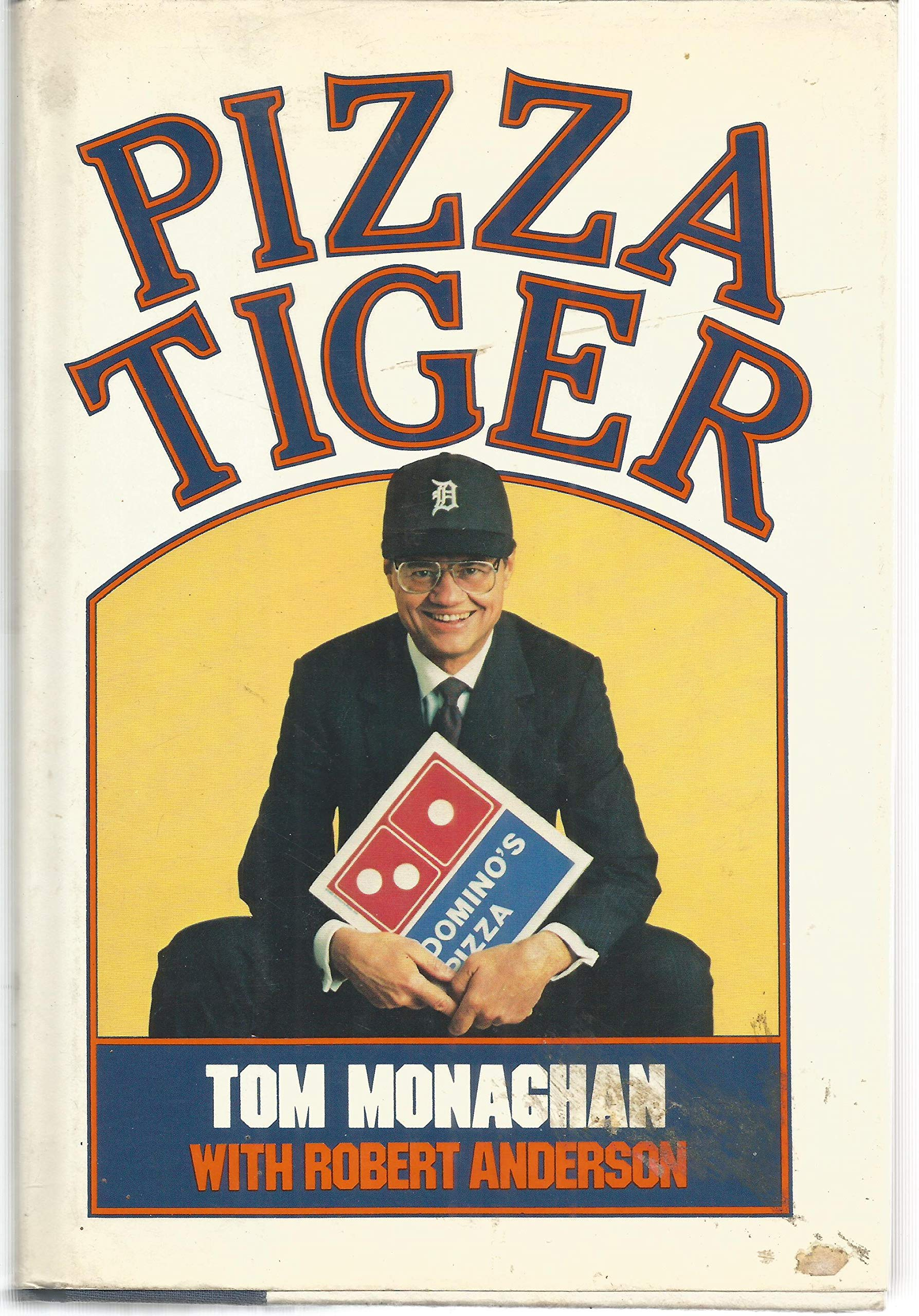 Pizza Tiger: Thomas Monaghan, Robert Anderson: 9780394553597: Amazon