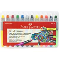 Faber-Castell Gel Crayons – Super Soft for Brilliant Color and Superior Blending – Works on Tons of Textures