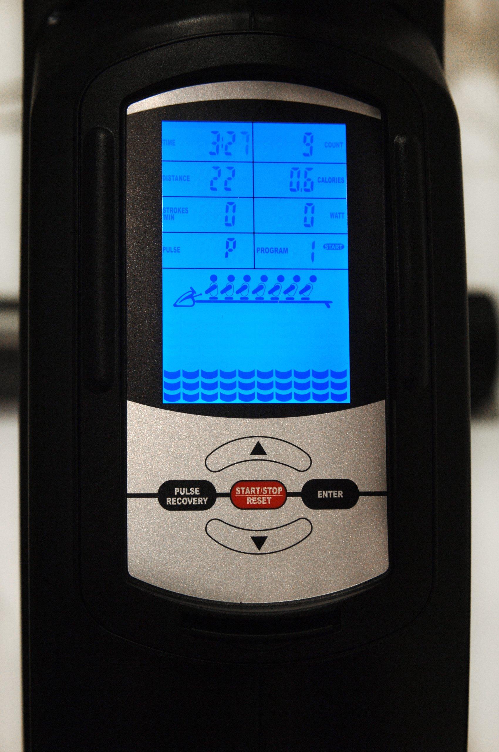 Stamina Avari Programmable Magnetic Exercise Rower by Avari (Image #4)