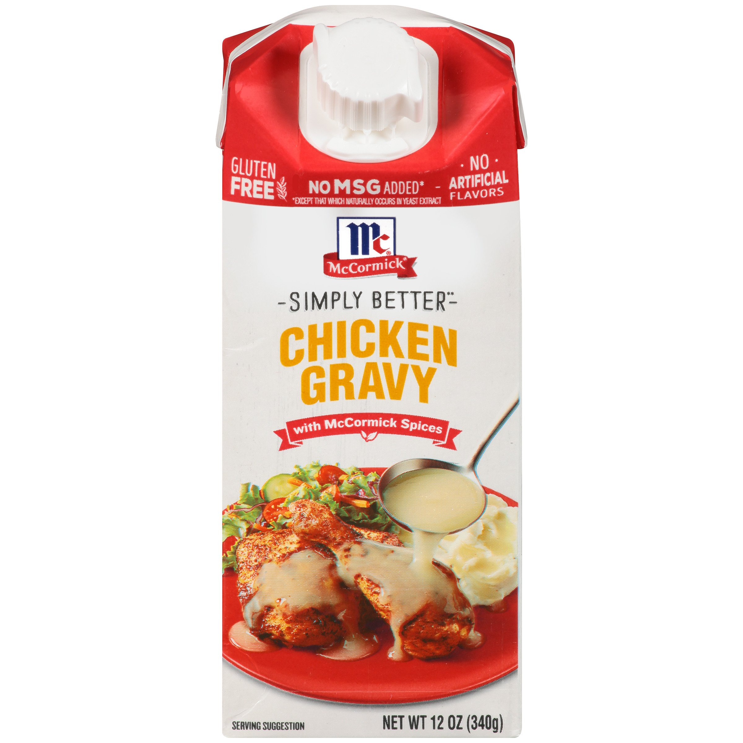 McCormick Simply Better Chicken Gravy, 12 oz by McCormick