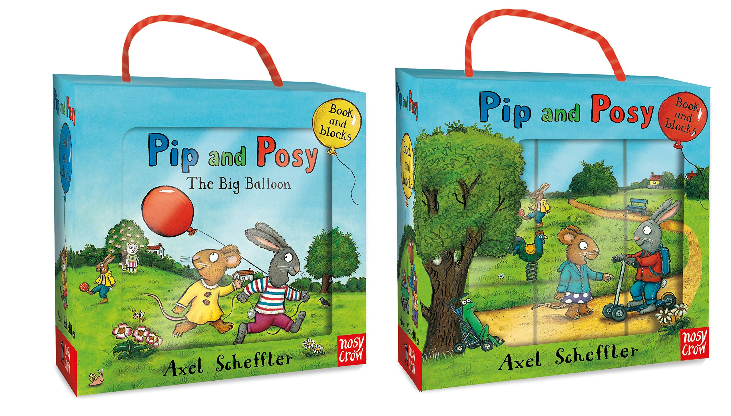 eeeb3f0519 Pip and Posy Book and Blocks Set (Pip   Posy)  Amazon.co.uk  Axel ...