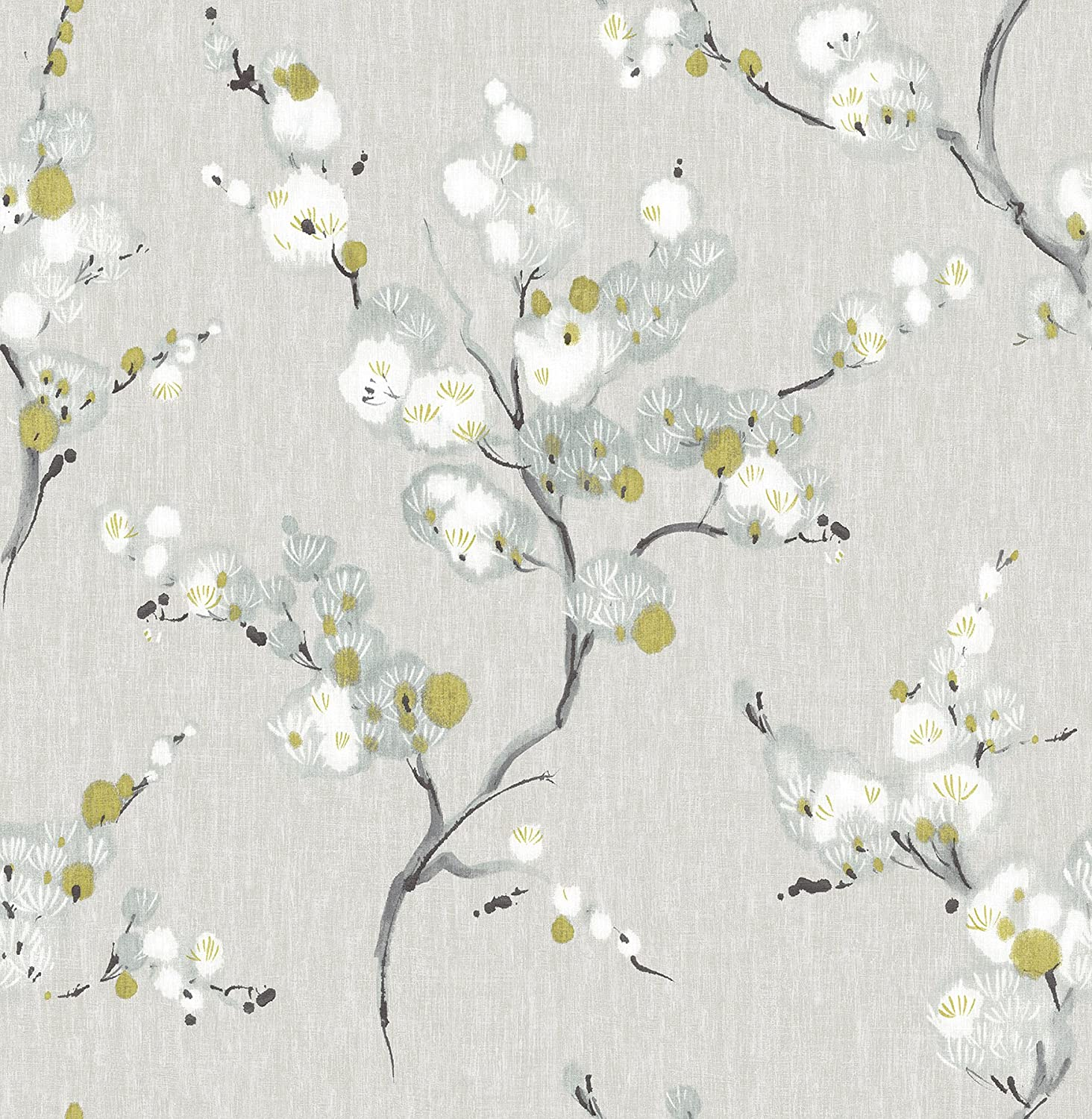 NuWallpaper NU2679 Mirei Peel & Stick Wallpaper, Taupe