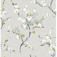 NuWallpaper NU2679 Mirei Peel & Stick Wallpaper, Taupe