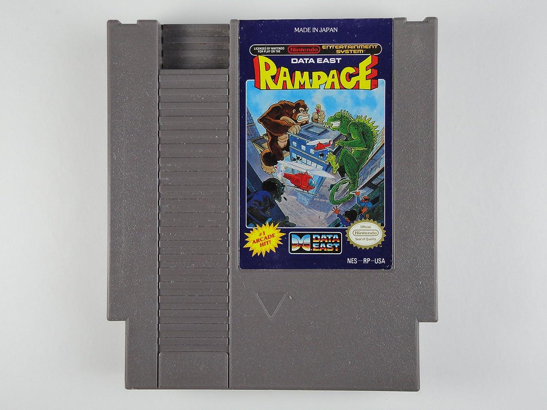 Amazon Com Rampage Nintendo Nes Video Games