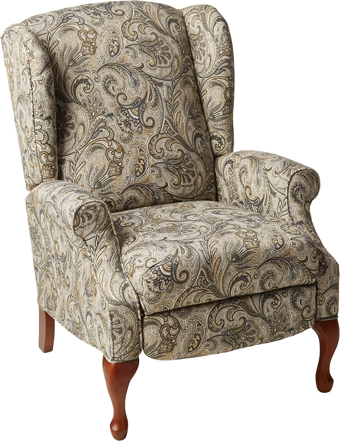 Lane Home Furnishings 6002-11 Luisa Prussian Hi Leg Recliner,Medium