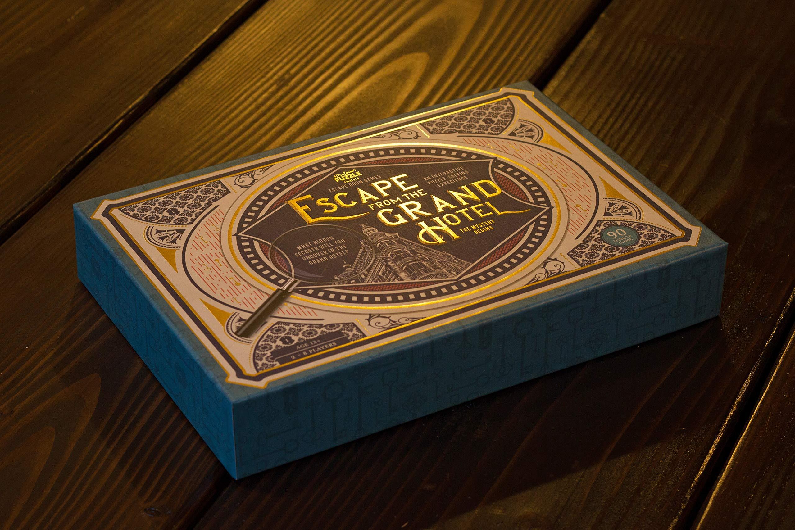 Escape from the Grand Hotel Game: Amazon.es: Libros en idiomas extranjeros