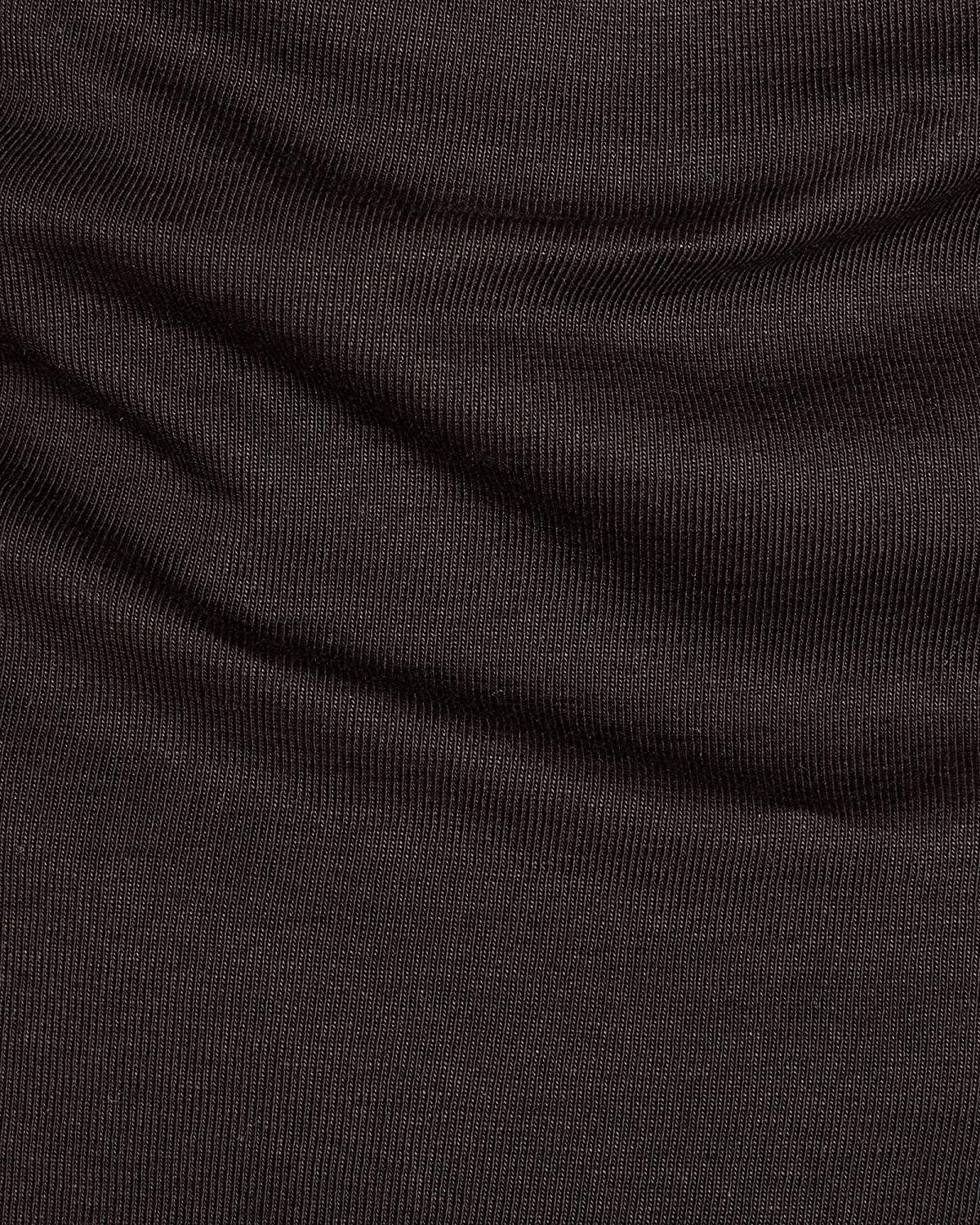 Large G-Star Raw Mens Base Round Neck Tee Long Sleeve 1-Pack Black