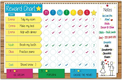 chore charts for family