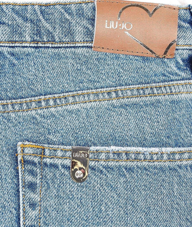 Liu Jeans Womens U19066D430577618 Blue Cotton Jeans