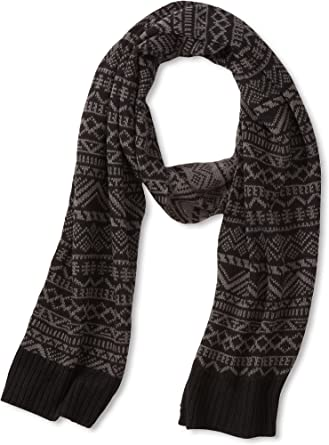 Muk Luks's's Accessories Scarf, Black, One Size at Amazon Men's Clothing  store: Cold Weather Scarves