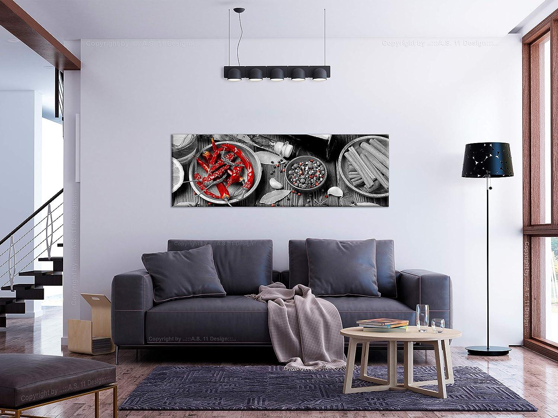 murando Impression sur Toile intissee Fruits et L/égumes 120x40 cm Impression sur Toile intisse 1 Piece Tableau Liege Absorption Acoustique Tableau Decoration Murale p/âtes Cuisine j-B-0073-b-a
