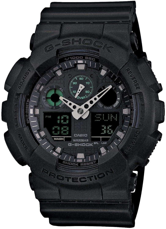[カシオ]CASIO 腕時計 G-SHOCK Military Black SeriesGA-100MB-1AJF メンズ B00RB15KMO