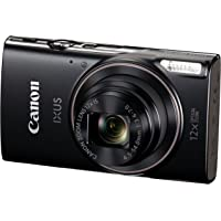 Canon IXUS 285 HS Digital Camera (Black)