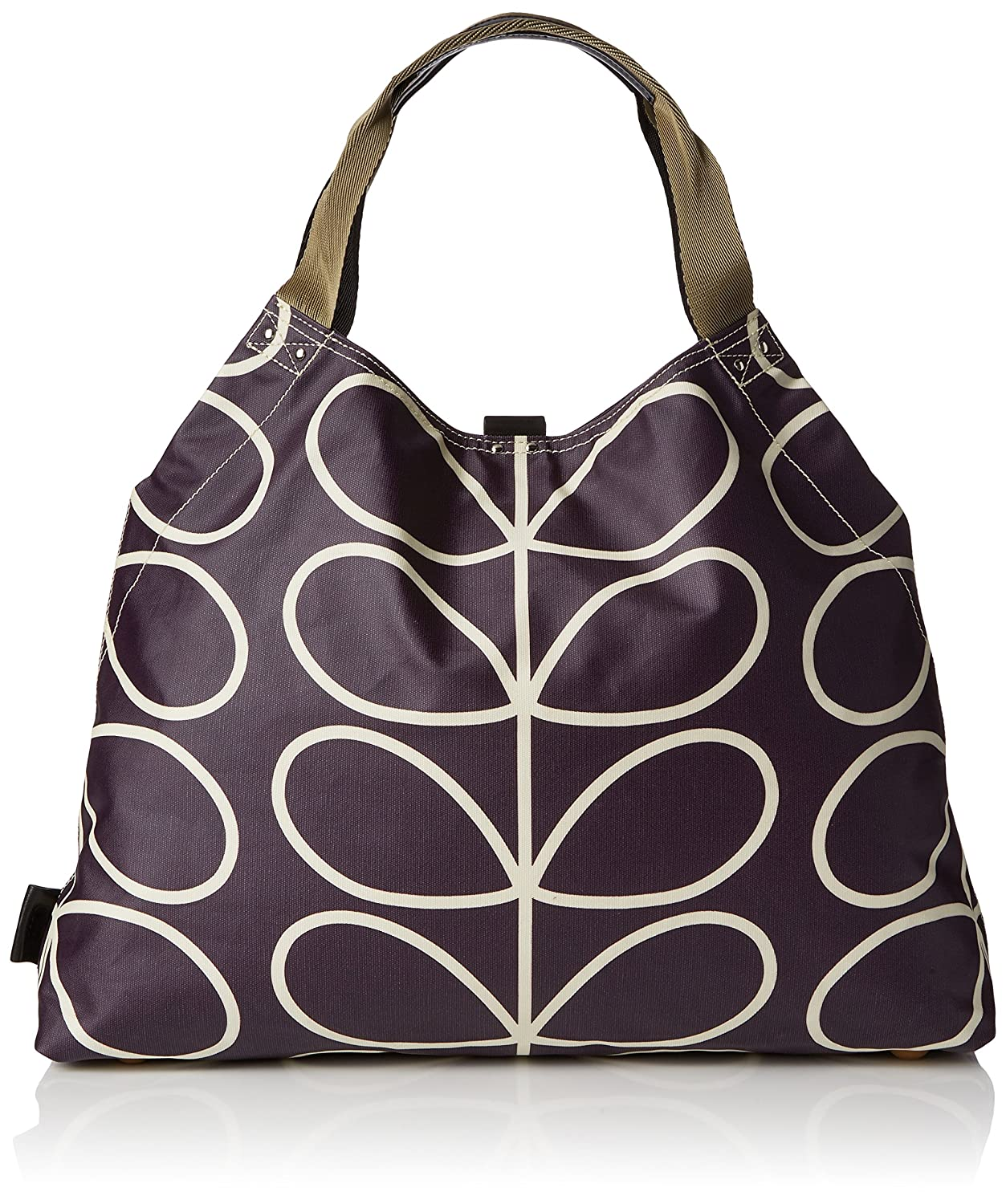 Womens Matt Laminated Linear Stem Print Large Holdall Messenger Bag Multicolour (Orchid) Orla Kiely Yis7iwZIiQ
