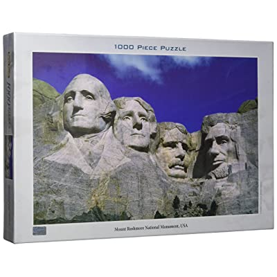 Tomax Mount Rushmore 1000 Piece Jigsaw Puzzle: Toys & Games