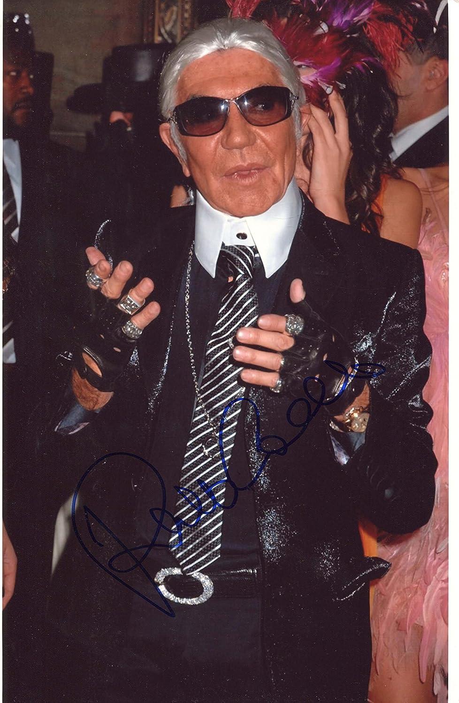 Roberto Cavalli Fashion Designer Autograph In Person Signed Photo Amazon Co Uk Kitchen Home