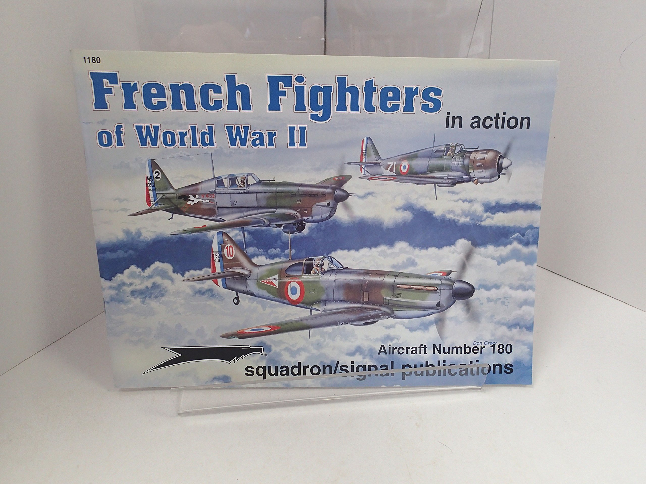 French Fighters of World War II in Action - Aircraft No. 180