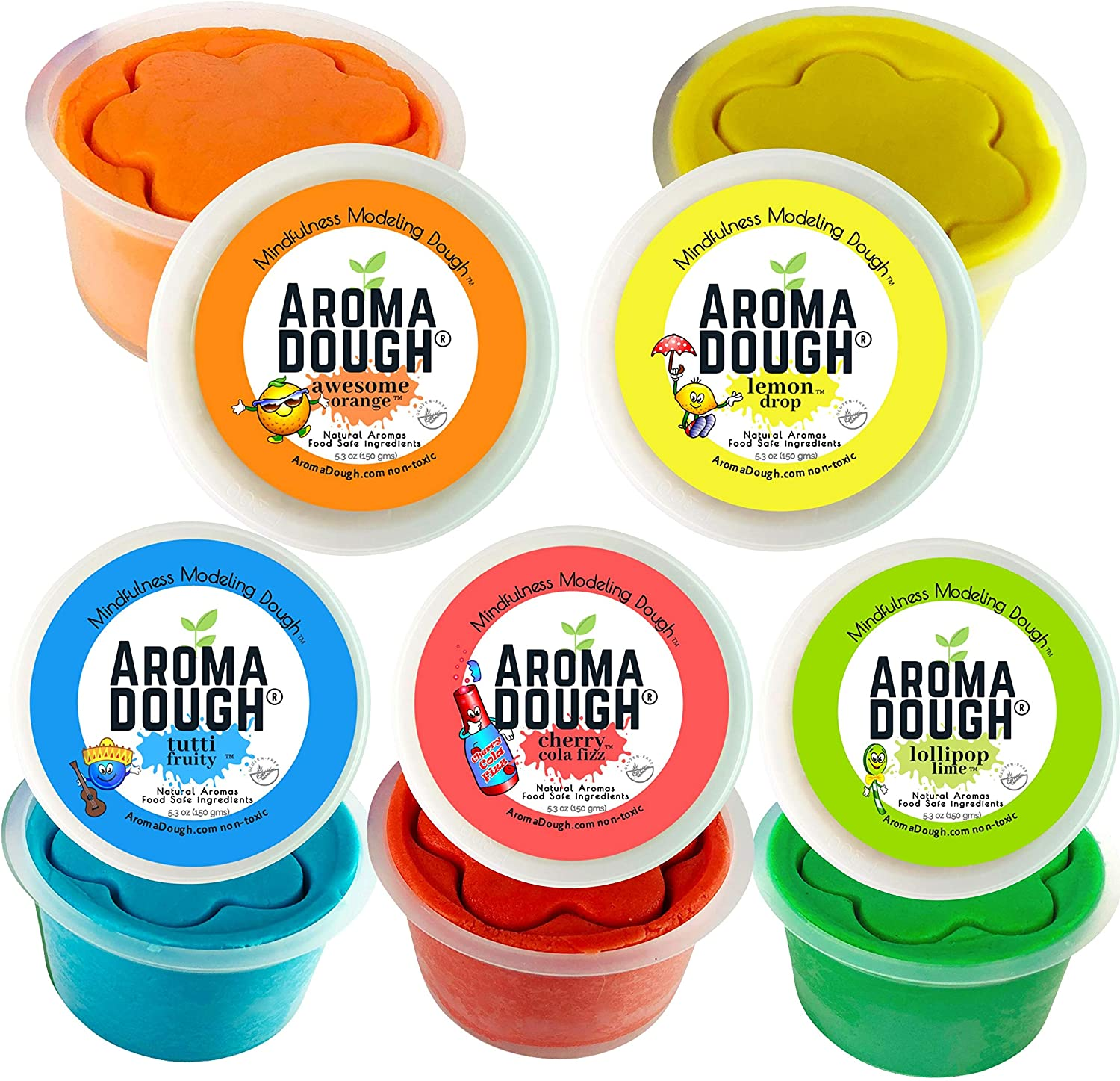 Sensory Play Smart Doh Essential Oil Infused Non-Toxic Modelling Dough