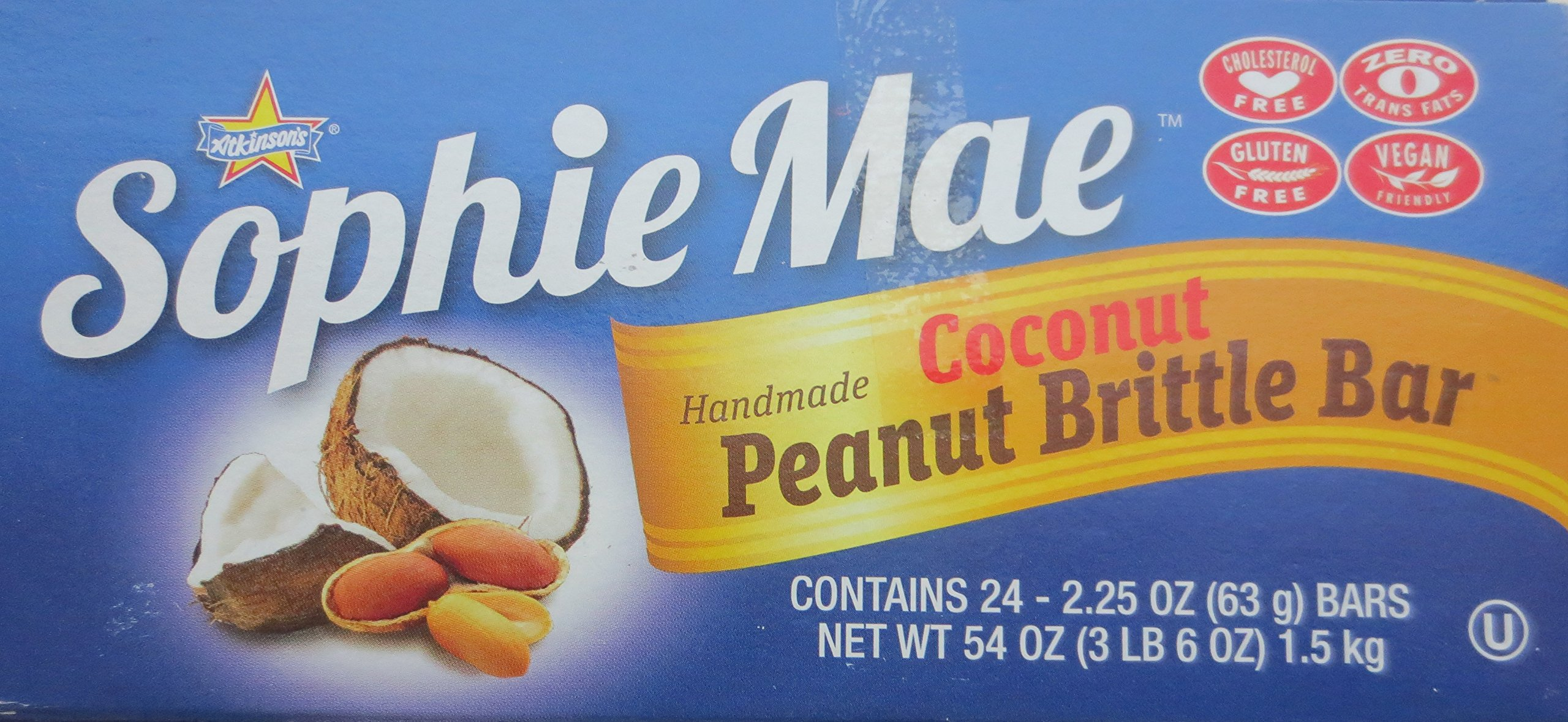 Sophie Mae Peanut Coconot Bar