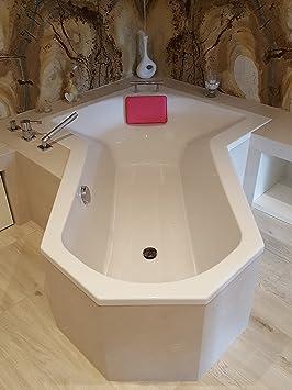 leyna Coussin/tapis/Tapis de salle de bain/douche/baignoire ...