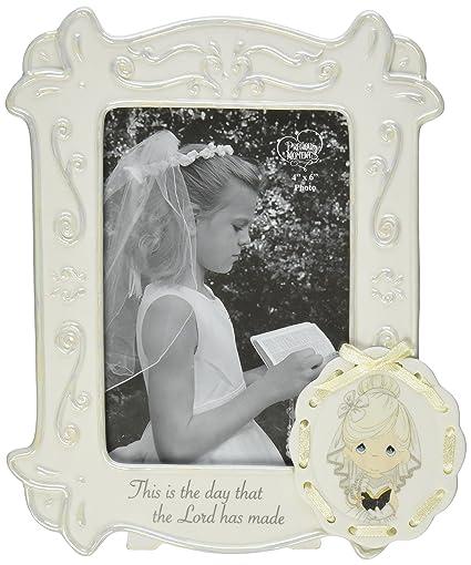 Amazon.com: Precious Moments Communion Girl Photo Frame, 153400 ...