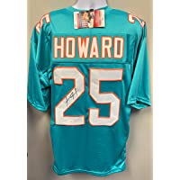 $99 » Xavien Howard Miami Dolphins Signed Autograph Custom Jersey Teal JSA Witnessed Certified