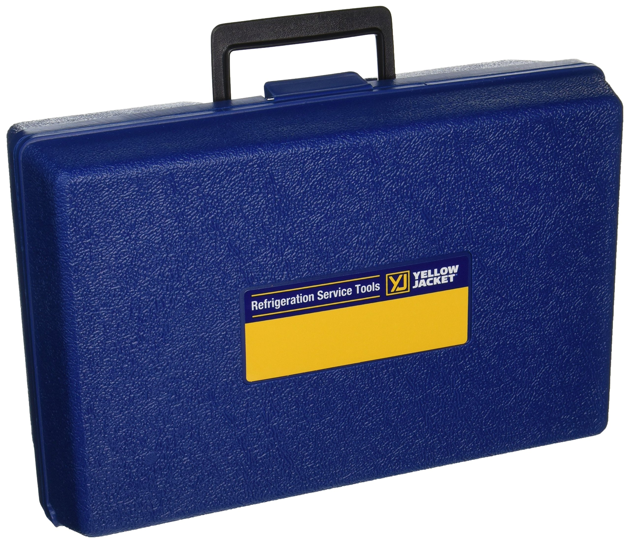 Yellow Jacket 40263 Series 41 Manifold Carrying Case, 12-1/4'' x 8'' x 4-1/4'', Blue