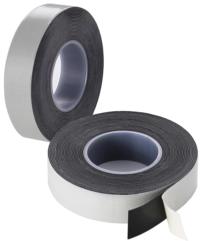 Poppstar ruban d/étanch/éit/é, auto-soudage LxWxH 5m x 19mm x 0,76mm 4x Ruban isolant universel auto-fusionnant noir