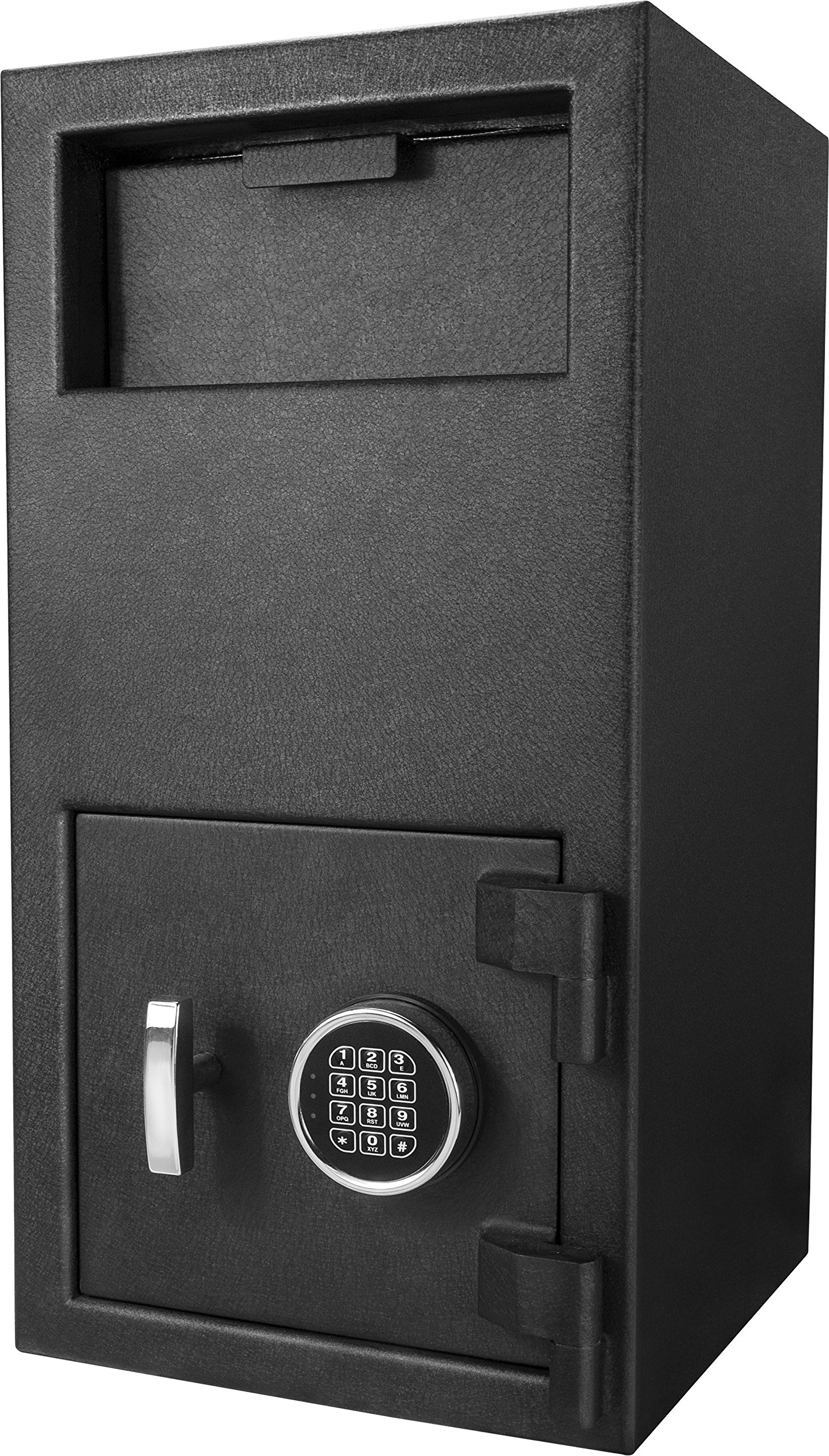 Winbest Steel Depository Safe Digital Keypad Front Load Mail Cash Vault Drop Box Slot (Large)