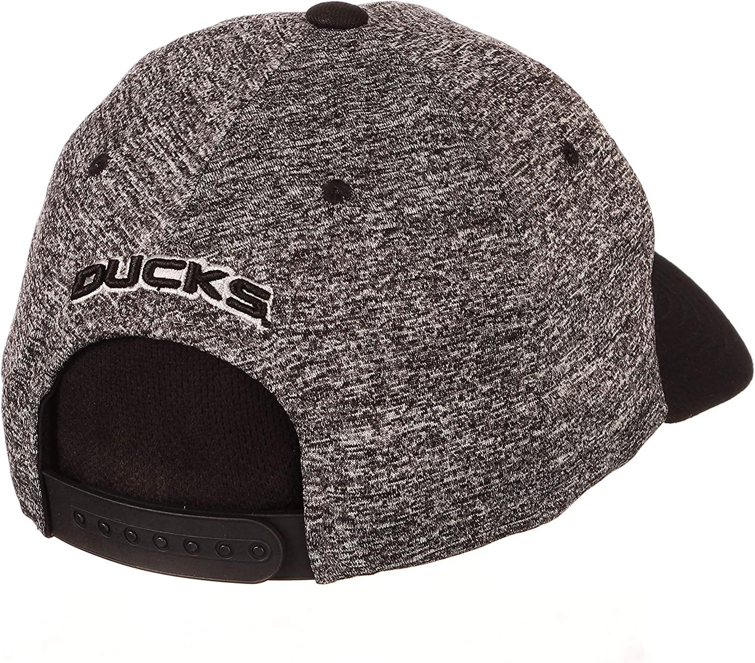 Charcoal//Black Small NCAA Zephyr Iowa Hawkeyes Mens Interference Z-Fit Hat