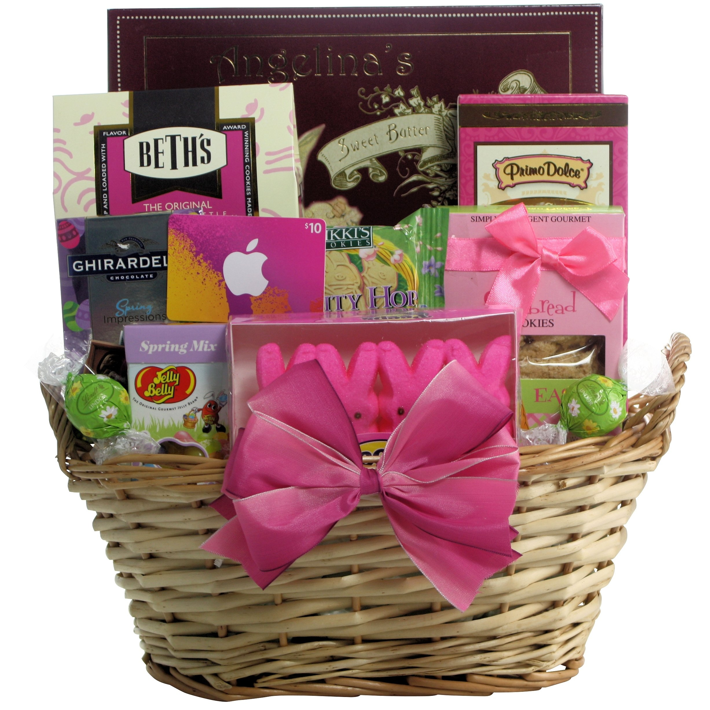 Amazon easter diva easter gift basket for tween girls ages greatarrivals gift baskets itunes cool easter treats teen and tween easter negle Image collections