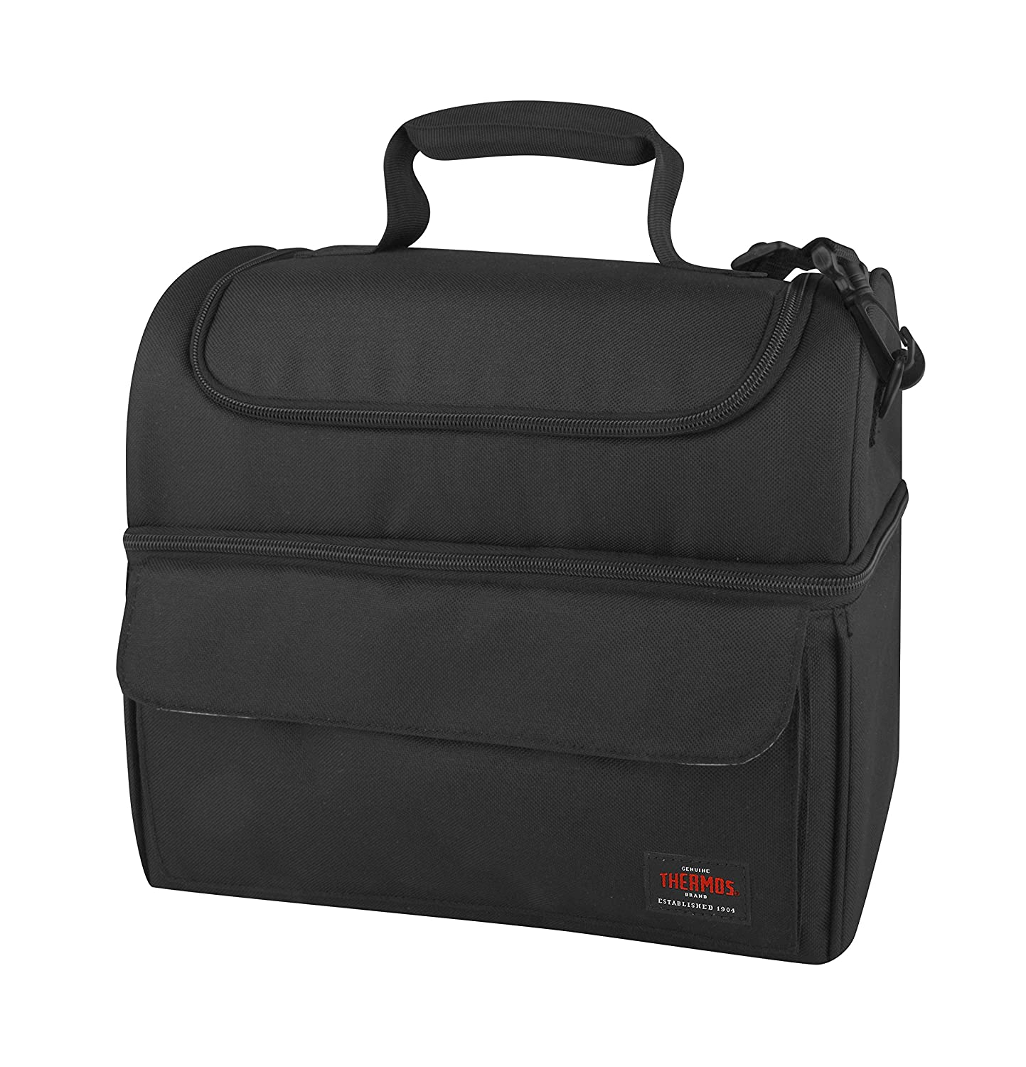 Thermos L79050 THRL79050 Lunch Lugger Cooler, Black, one size,