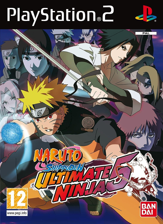 Amazon.com: Naruto Shippuden Ultimate Ninja 5 Ps2 PAL: Video ...