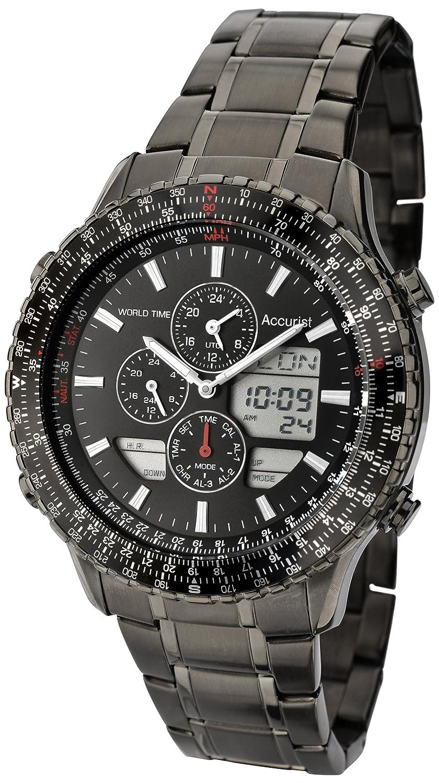 Accurist Herren-Armbanduhr Man MB1036BB Chronograph Quarz