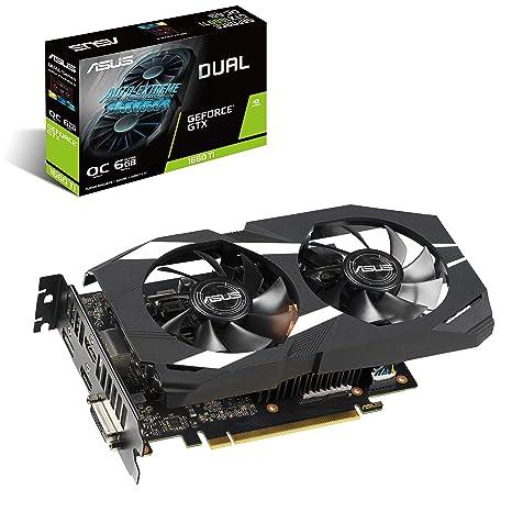 ASUS Dual -GTX1660TI-O6G GeForce GTX 1660 Ti 6 GB GDDR6 ...