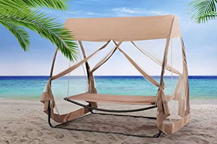 Sunjoy Hammock Chair With Canopy U0026 Netting