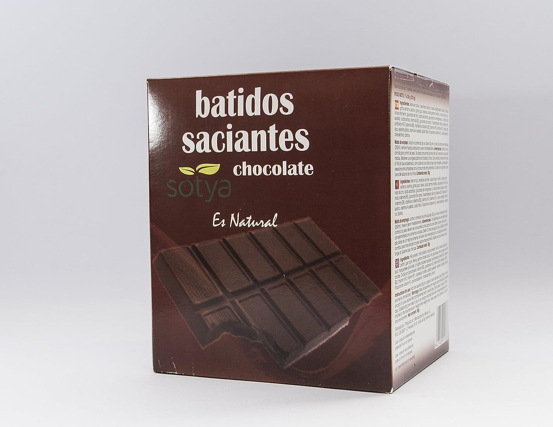 SOTYA Batidos Chocolate sobres monodosis 7x30g: Amazon.es ...