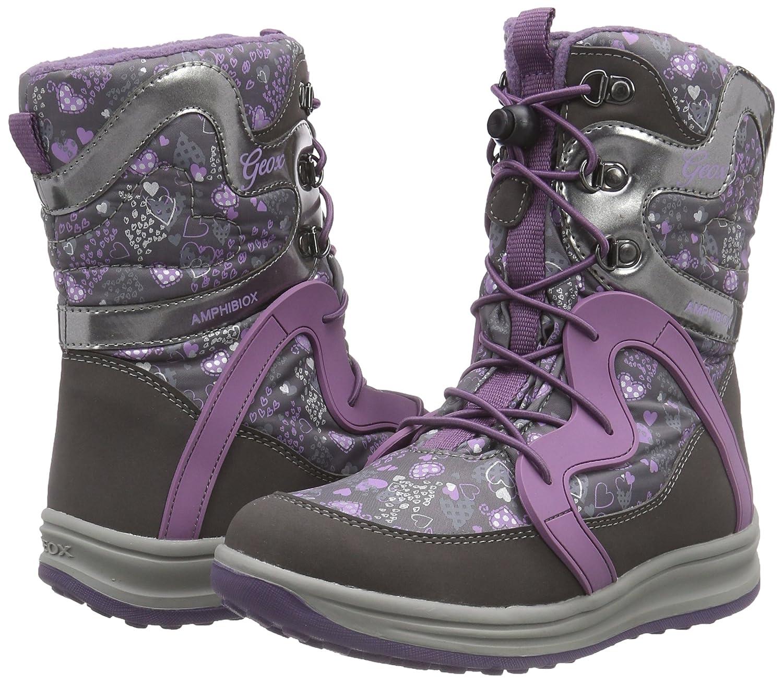 3503193a92b0b4 Geox J Roby B Girl ABX B, Bottes de Neige Fille: Amazon.fr: Chaussures et  Sacs