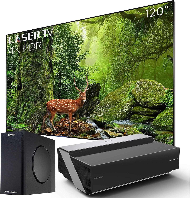 Hisense 120-inch 4K Ultra HD Smart HDR Laser TV 2019 (120L10E ...