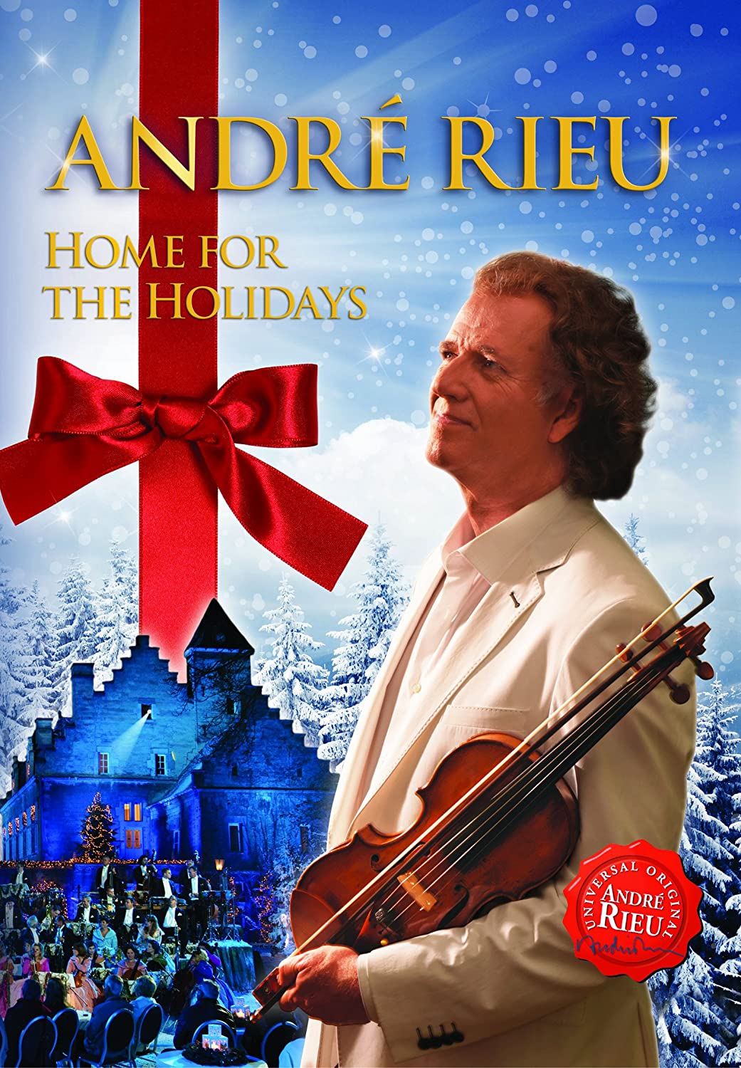 Andre Rieu: Home For The Holidays [Blu-ray]