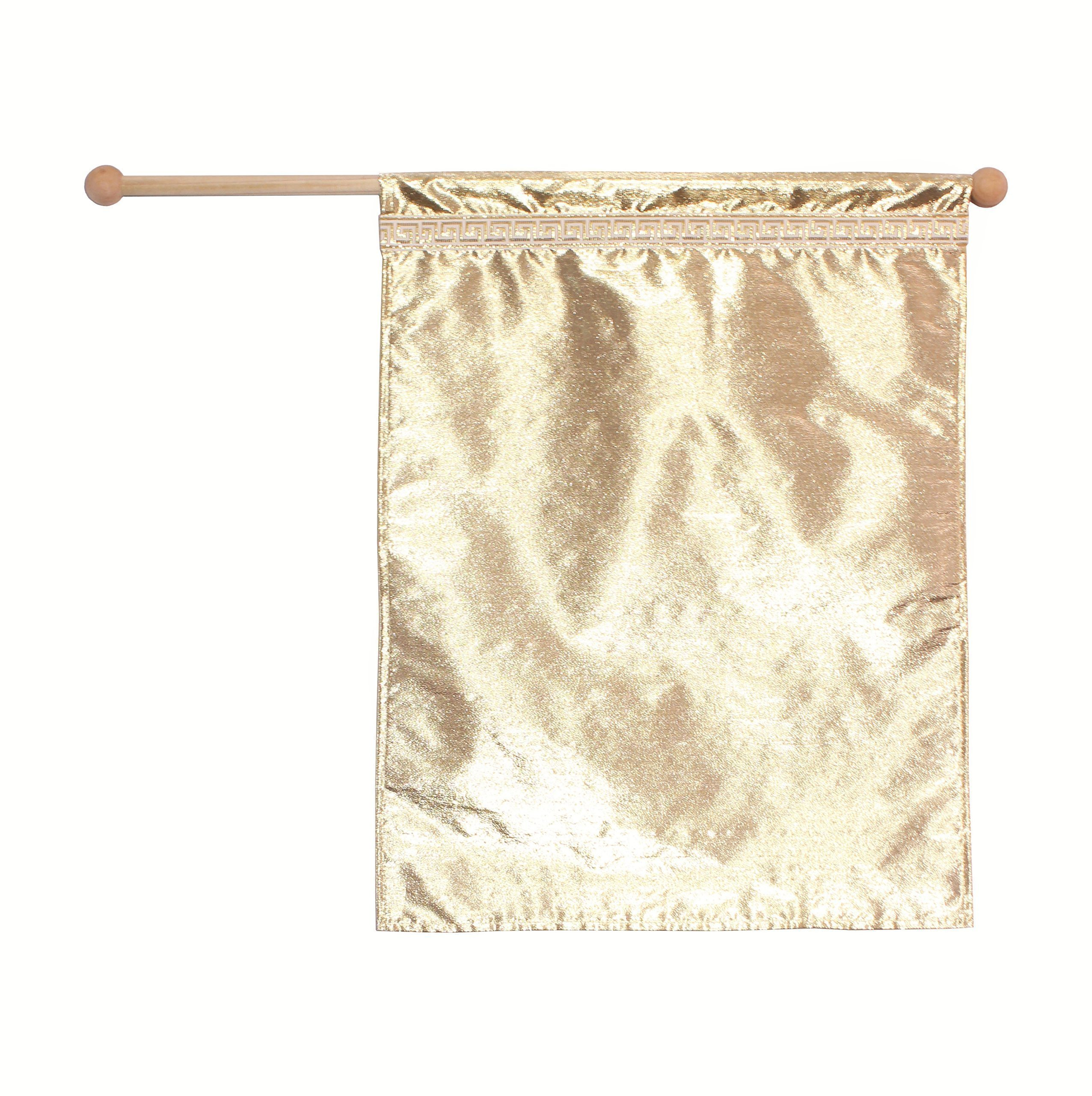 Gold Flag, Dance, Praise and Worship Flag, Child Size