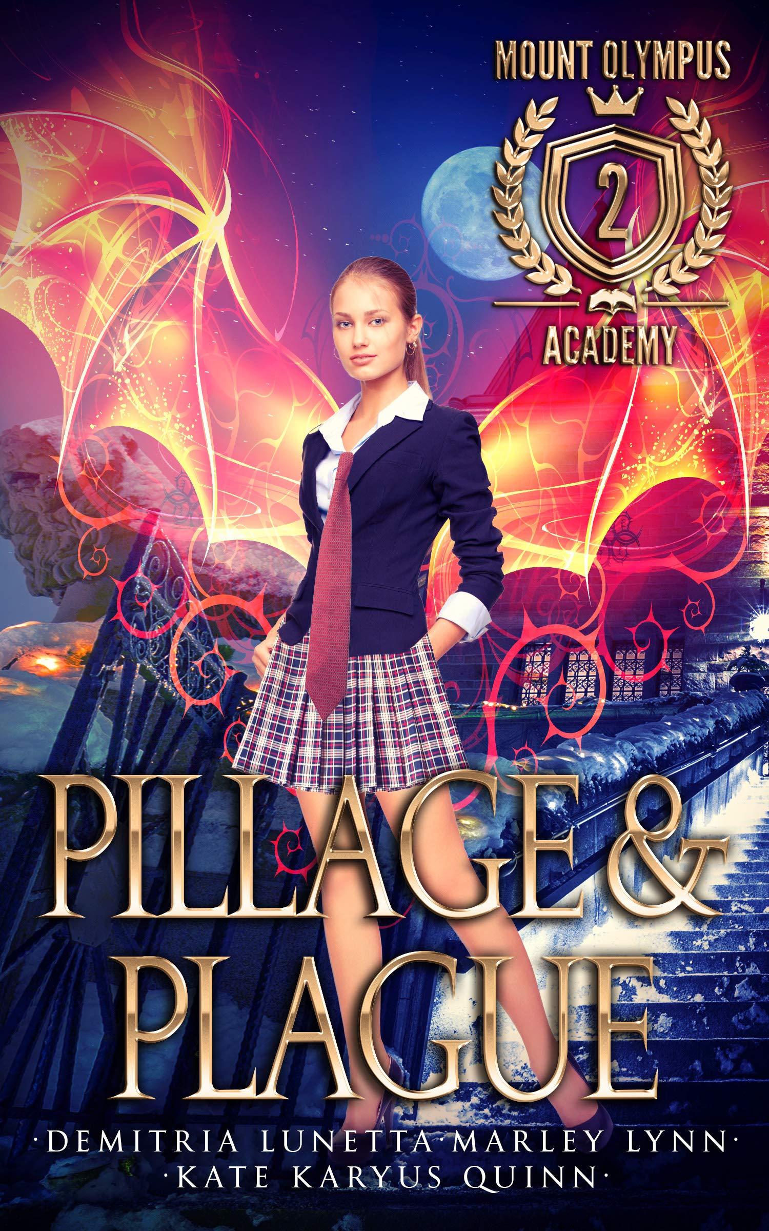 Pillage & Plague (Mount Olympus Academy Book 2) (English Edition)