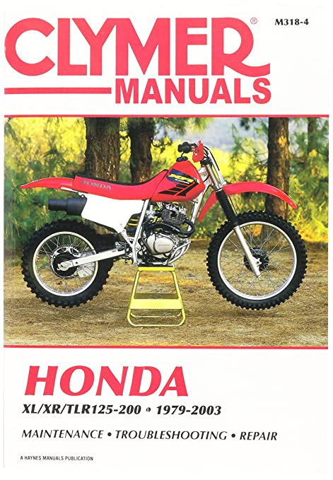 amazon com clymer m3184 repair manual manufacturer automotive rh amazon com 1984 Honda XL250 1982 Honda XL250