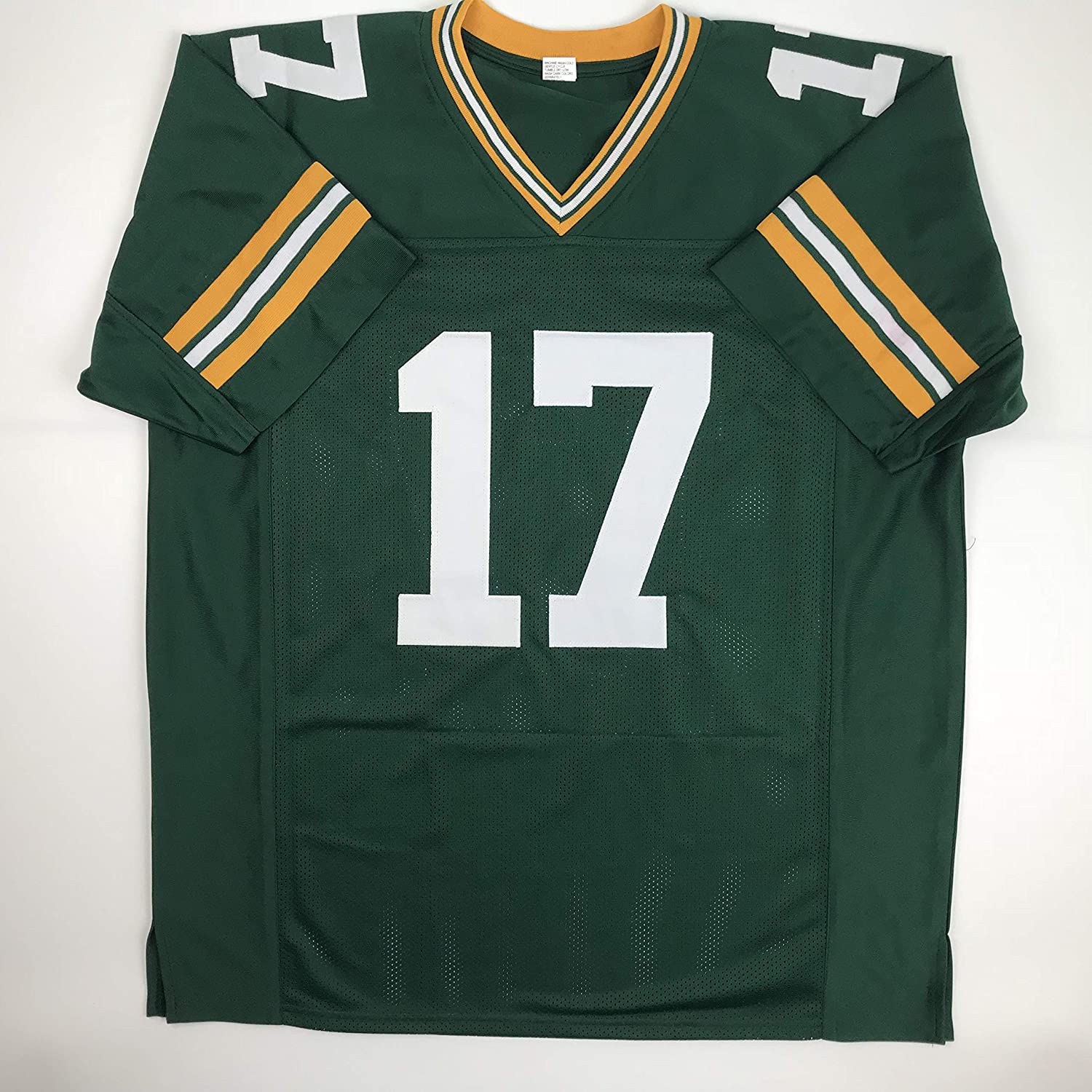 Amazon.com  Unsigned Davante Adams Green Bay Green Custom Stitched Football  Jersey Size Men s XL New No Brands Logos  Sports Collectibles c94f5473a