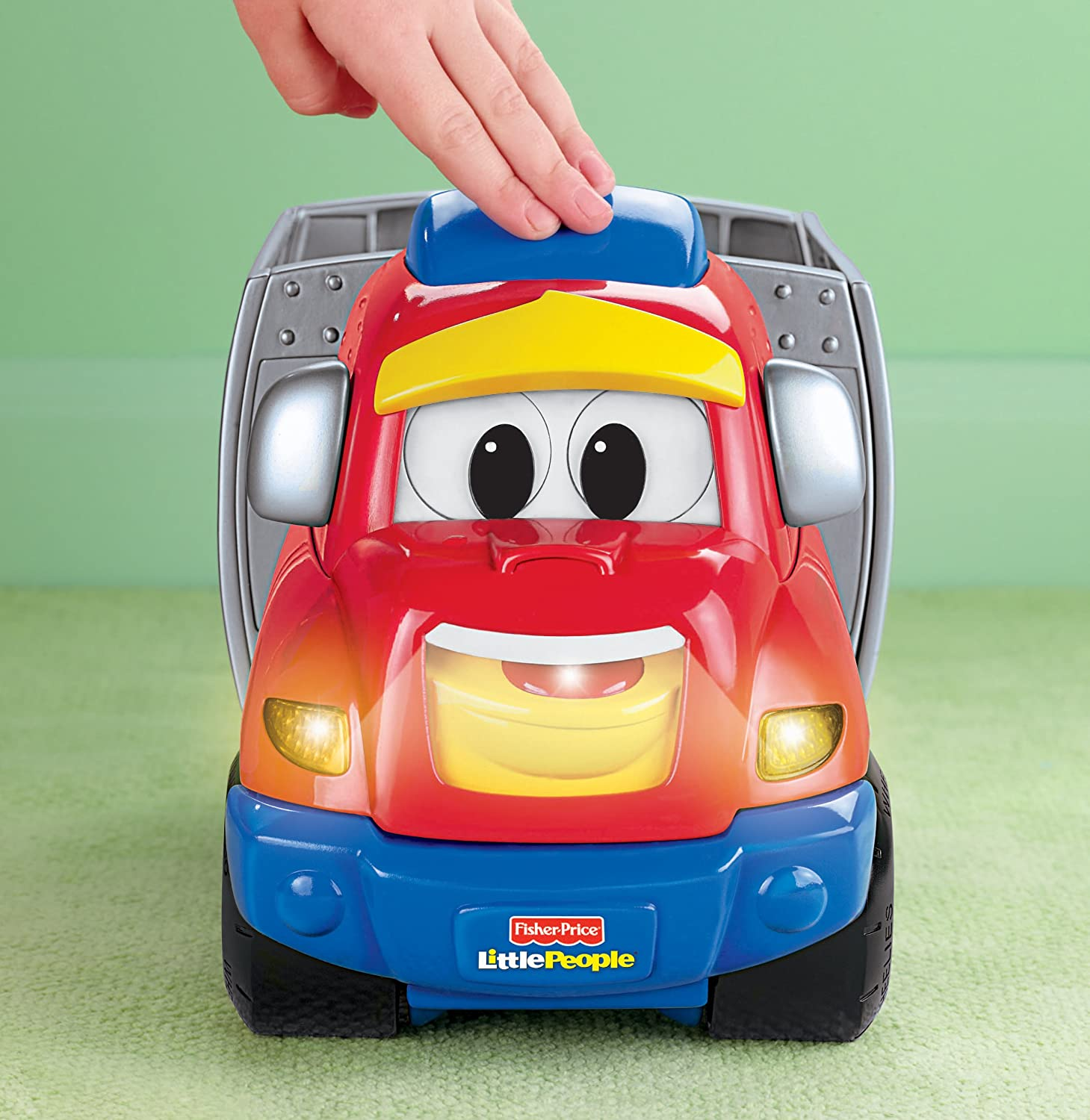Amazon Fisher Price Little People Wheelies Zig The Big Rig