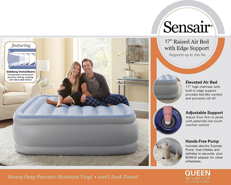 Amazon.com: Broyhill sensair colchón de aire inflable ...